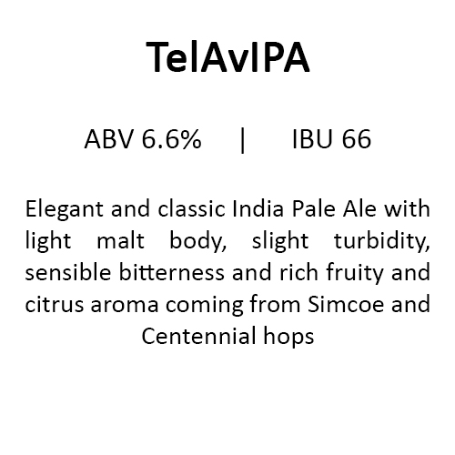 Uncle Brew TelAvIPA Estonian Craft Beer
